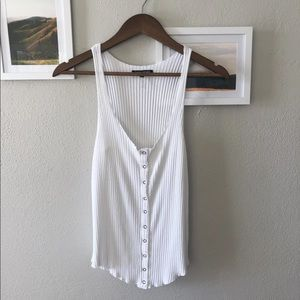 Revolve button up tank